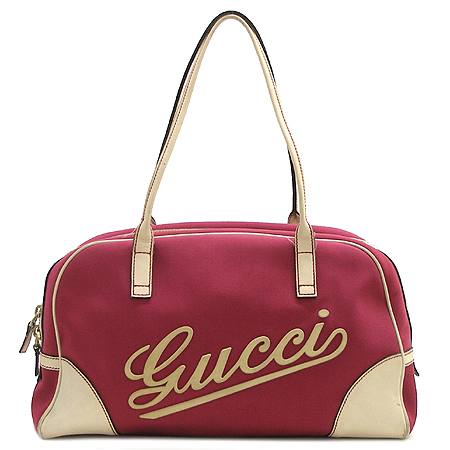 Gucci(구찌) 169973 로고 패브릭 보스톤 숄더백 [강남본점]