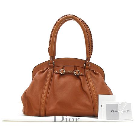 Dior(크리스챤디올) 카멜 래더 마이 디올 토트백 이미지2 - 고이비토 중고명품