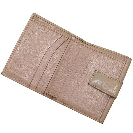 Ferragamo(페라가모) 22 6164  은장 간치니 장식 반지갑 이미지4 - 고이비토 중고명품