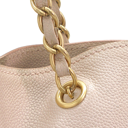 Chanel(샤넬) 금장 COCO로고 캐비어 스킨 금장 체인 숄더백 이미지4 - 고이비토 중고명품