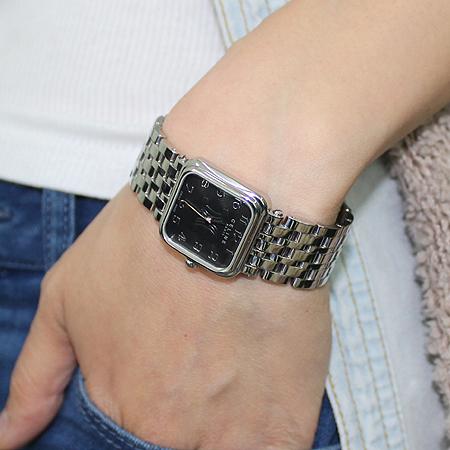 Celine(셀린느) C82111000 사각 스퀘어 스틸 여성용 시계