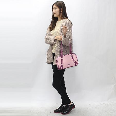 Missoni(미소니) 핑크 패브릭 더블짚 오픈 패브릭 숄더백 [강남본점] 이미지7 - 고이비토 중고명품