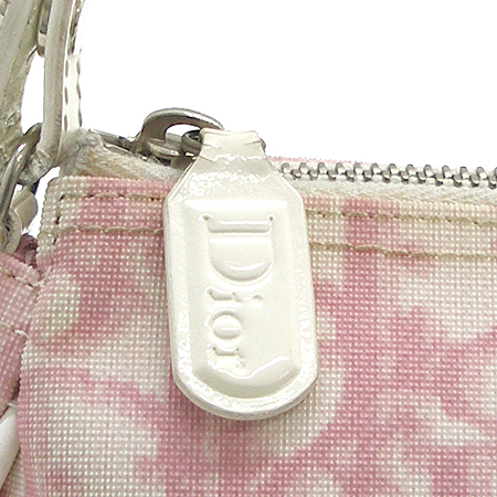 Dior(크리스챤디올) 핑크 PVC 새들 파우치 겸 숄더백 [강남본점]