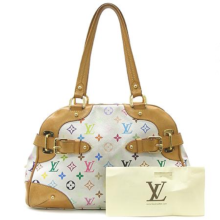 Louis Vuitton(루이비통) M40193 모노그램 멀티 화이트 클라우디아 숄더백