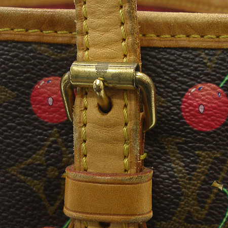 Louis Vuitton(루이비통) M95012 모노그램 캔버스 체리 바겟 숄더 겸 토트백 + 보조 파우치