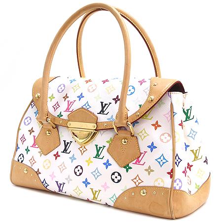 Louis Vuitton(루이비통) M40201 모노그램 멀티 컬러 화이트 비버리 GM 토트백 [강남본점] 이미지3 - 고이비토 중고명품