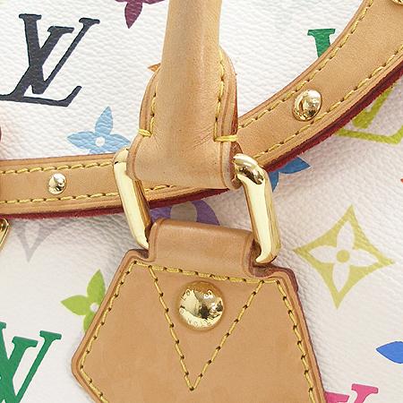 Louis Vuitton(루이비통) M40201 모노그램 멀티 컬러 화이트 비버리 GM 토트백 [강남본점] 이미지5 - 고이비토 중고명품