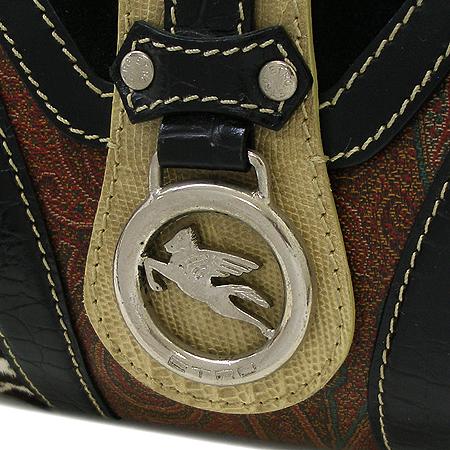 Etro(에트로) 은장 페가수스 로고 장식 멀티 숄더백 이미지4 - 고이비토 중고명품