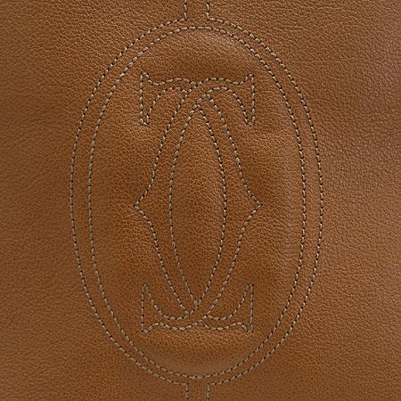 Cartier(까르띠에) 카멜 컬러 마르첼로 쇼핑백 2WAY 이미지5 - 고이비토 중고명품