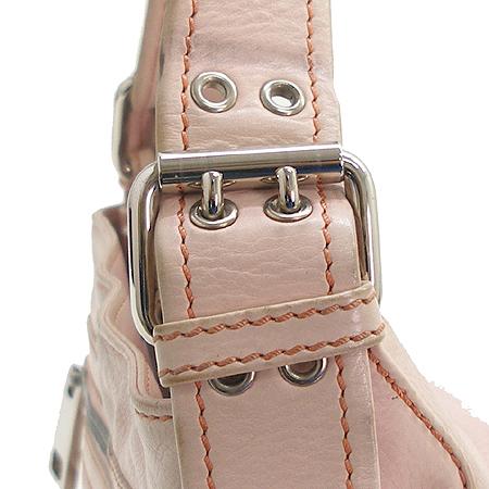 Marc_Jacobs 투 포켓 라이트 핑크 레더 베네치아 숄더백
