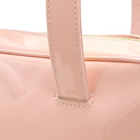 Chanel(샤넬) A27119Y02604 핑크 페이던트 트리플 코코 로고 토트백 이미지4 - 고이비토 중고명품