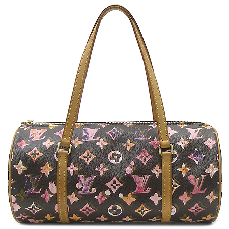 Louis Vuitton(루이비통) M95753 모노그램 워터컬러 아쿠아렐 블랙 파필론 30 토트백
