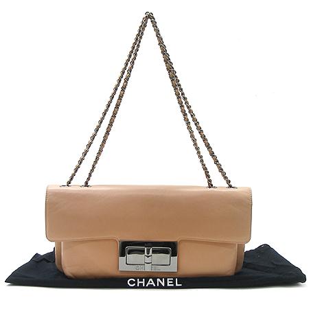 Chanel(샤넬) 은장 버클 램스킨 은장 체인 숄더백