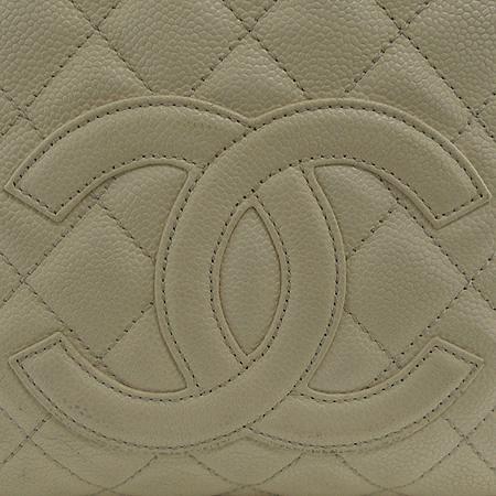 Chanel(샤넬) 정방 캐비어 스킨 은장 체인 숄더백 이미지4 - 고이비토 중고명품