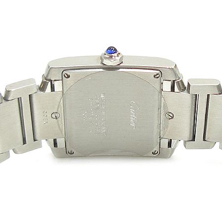 Cartier(까르띠에) W51011Q3 탱크 M사이즈 스틸 남녀공용 시계