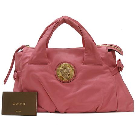 Gucci(구찌) 197020 램스킨 핑크 래더 토트백