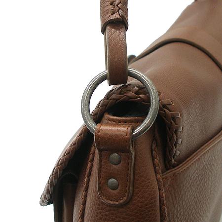 Dior(크리스챤디올) 브라운 래더 가우쵸 숄더백