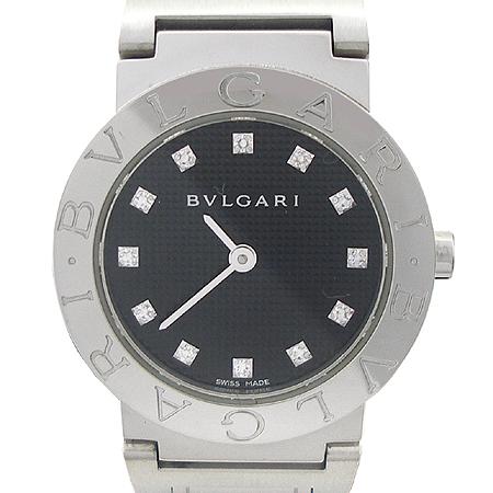 Bvlgari(불가리) 신형 BB26SS 12P 다이아 스틸 여성용 시계