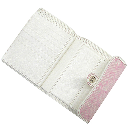 Celine(셀린느) 블라종 로고 자가드 중지갑