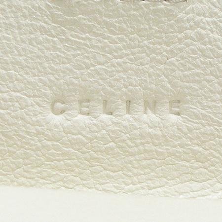 Celine(셀린느) 블라종 로고 자가드 중지갑 이미지4 - 고이비토 중고명품