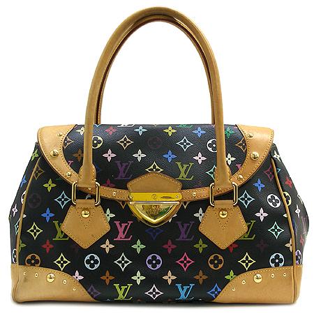 Louis Vuitton(루이비통) M40202 모노그램 캔버스 멀티 컬러 블랙 비버리 GM 토트백 [강남본점]