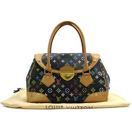 Louis Vuitton(루이비통) M40202 모노그램 캔버스 멀티 컬러 블랙 비버리 GM 토트백