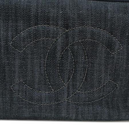 Chanel(샤넬) COCO 로고 데님 체인 숄더백 [명동매장]