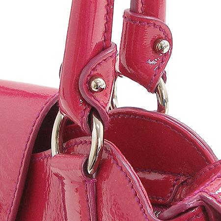 Ferragamo(페라가모) 21 6317 핑크 페이던트 간치니로고 장식 토트백
