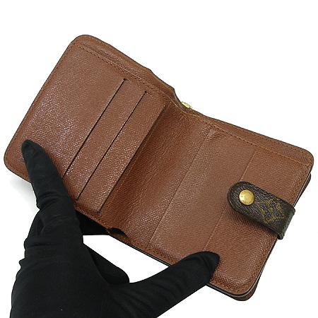 Louis Vuitton(루이비통) M61667 모노그램 캔버스 지퍼 컴팩트 월릿 반지갑 이미지2 - 고이비토 중고명품