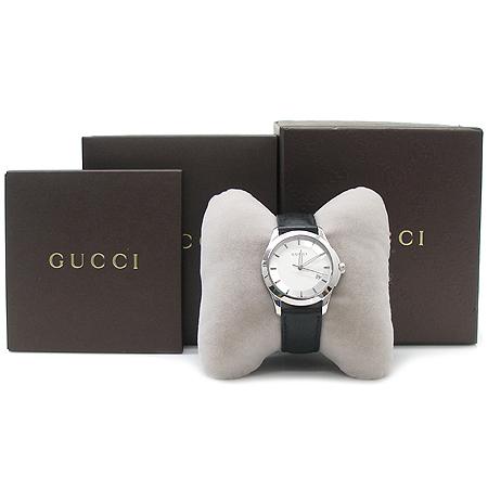 Gucci(구찌) YA126411 G-TIMELESS 컬렉션 가죽밴드 남성용 시계 [압구정매장]