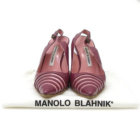 MANOLO BLAHNIK (마놀로블라닉) 퍼플애나멜 여성용샌들 [인천점]