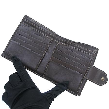 Gucci(구찌) 203549 GG 로고 PVC 반지갑