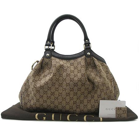 Gucci(����) 211944 GG�ΰ� �ڰ��� ī�� ���� Ʈ���� ��Ű ��Ʈ�� [��õ ������]