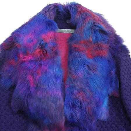 UNGARO(웅가로) 코트 (토끼털 허리끈SET)