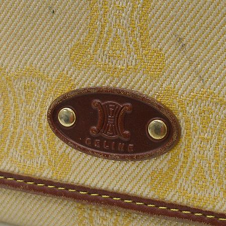 Celine(셀린느) 로고 장식 블라종 패브릭 장지갑 [강남본점] 이미지2 - 고이비토 중고명품