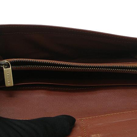 Celine(셀린느) 로고 장식 블라종 패브릭 장지갑 [강남본점] 이미지5 - 고이비토 중고명품