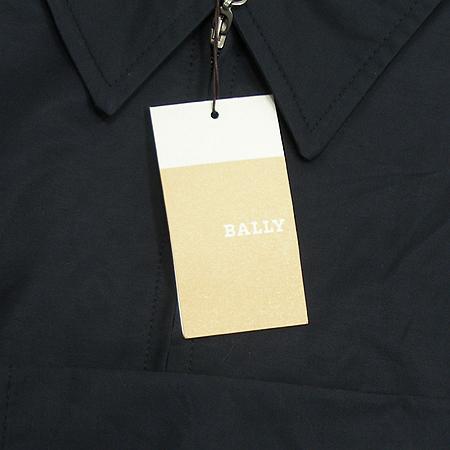 Bally(발리) 블랙 컬러 혼방 짚업 자켓