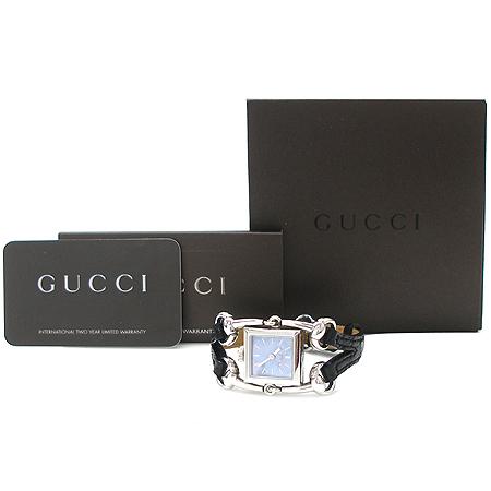 Gucci(구찌) 116.5 SIGNORIA 자개판 로고 사각 펜던트 여성용 시계