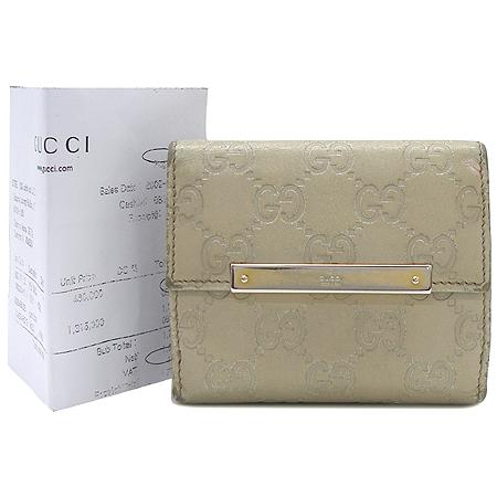 Gucci(����) 112716 GG�ΰ� �ø� ���̺��� ����ΰ� 2�� ������