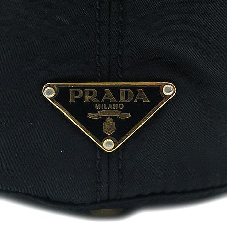 Prada(프라다) 원 포켓 짚업 장식 패브릭 숄더백