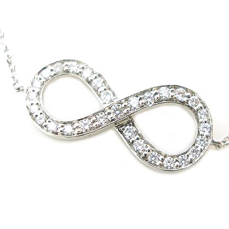 Tiffany(티파니) 25922425 PT950 (플레티늄) 인피니트 29포인트 다이아 S 사이즈 팔찌