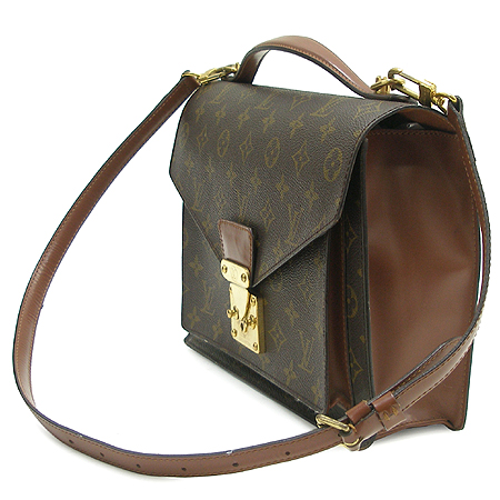 Louis Vuitton(루이비통) M51187 모노그램 캔버스 몽소 2WAY 이미지2 - 고이비토 중고명품
