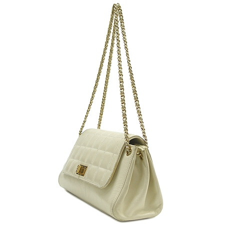 Chanel(샤넬) 램스킨 금장 체인 숄더백