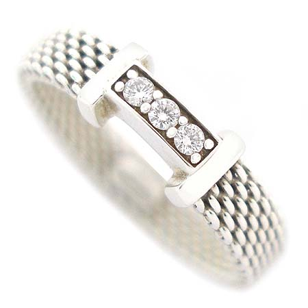 Tiffany(티파니) 925 (실버) 3포인트 다이아 반지