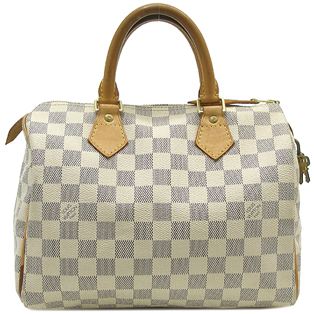 Louis Vuitton(루이비통) N41534 다미에 아주르 캔버스 스피디 25 토트백