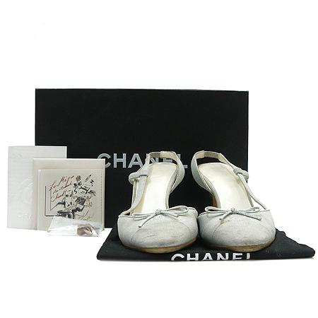 Chanel(샤넬) 패브릭 코코 리본 구두