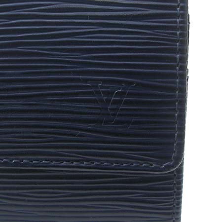 Louis Vuitton(루이비통) M60320 에삐 레더 인디고 블루 컬러 사라 월릿 장지갑 이미지3 - 고이비토 중고명품