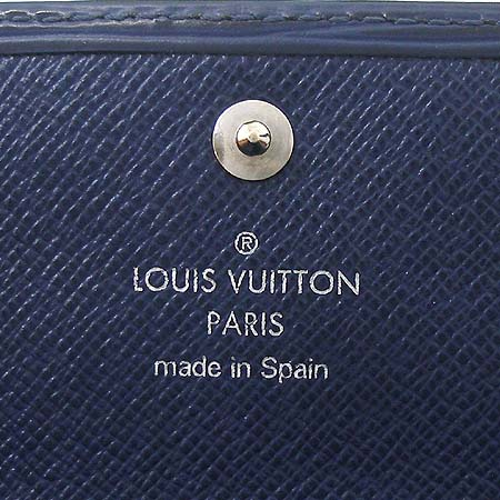 Louis Vuitton(루이비통) M60320 에삐 레더 인디고 블루 컬러 사라 월릿 장지갑 이미지5 - 고이비토 중고명품