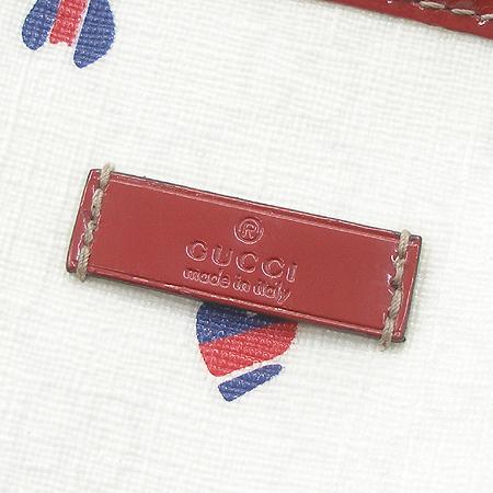 Gucci(구찌) 197953 하트 PVC 레드트리밍 쇼퍼 숄더백 이미지4 - 고이비토 중고명품