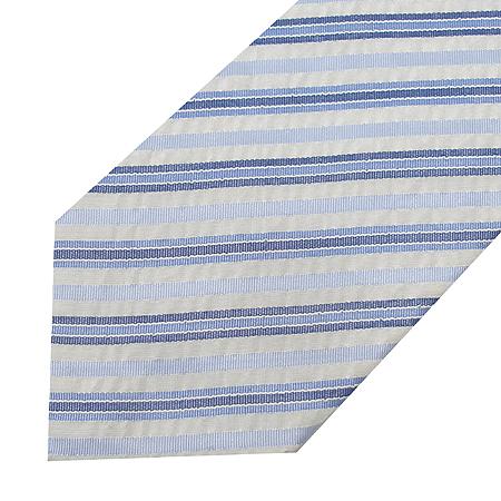 Hugo Boss(휴고보스) 실크 혼방 더블 스트라이프 패턴 넥타이 이미지2 - 고이비토 중고명품